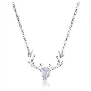 Jewelry - Reindeer Silver Necklace